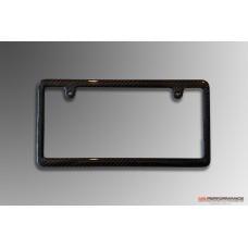 Carbon number plate frame thin frame type - front