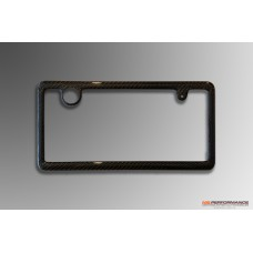 Carbon number plate frame thin frame type - rear
