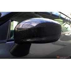 R35 GT-R carbon mirror shell set