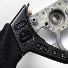 R35 GT-R dry carbon steering switch cover