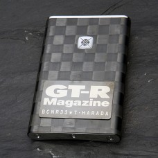 GT-R Magazine Carbon Coin Case